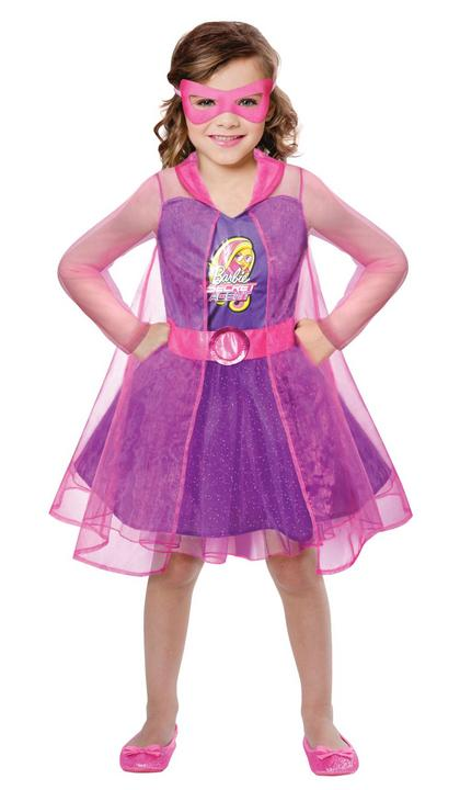 Girls Barbie Spy Squad Girls Fancy Dress Costume Thumbnail 1