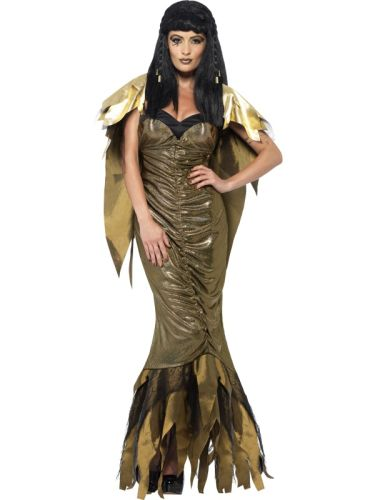Ladies Dark Cleopatra Costume Thumbnail 1