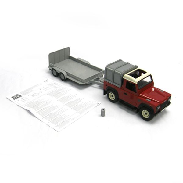 LAND ROVER & GENERAL PURPOSE TRAILER SET