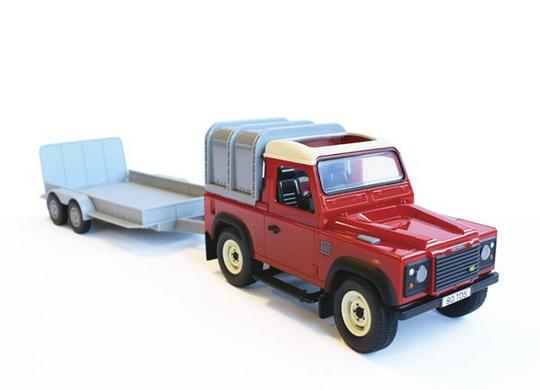 LAND ROVER & GENERAL PURPOSE TRAILER SET Thumbnail 2