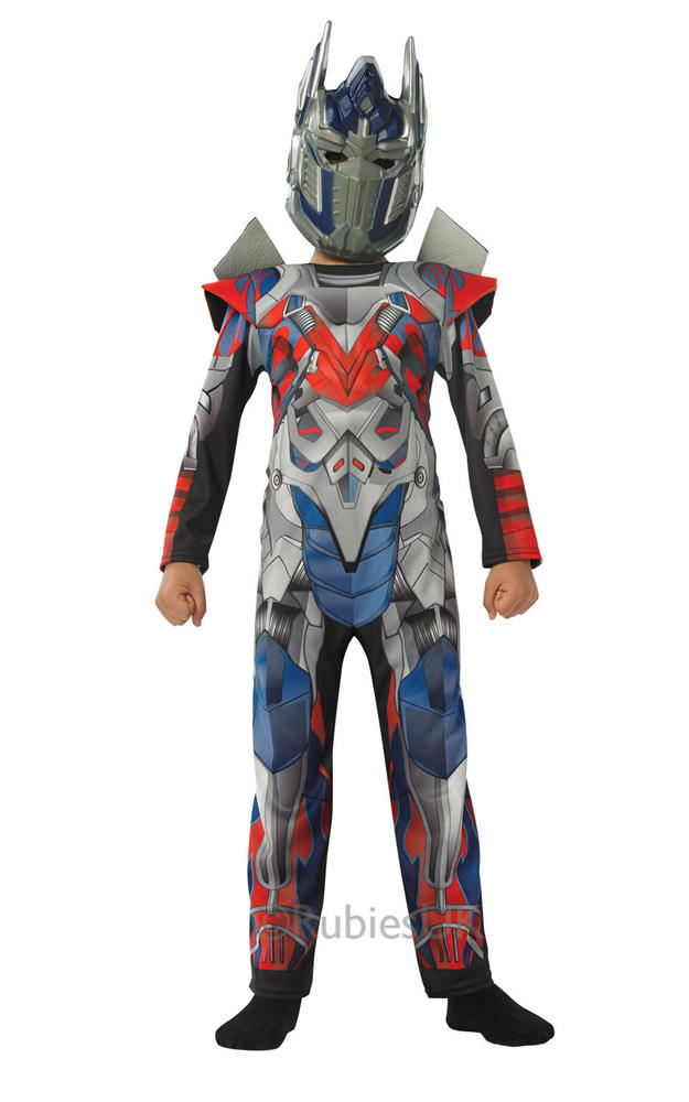 SALE! Kids Licensed Transformers Optimus Prime Boys Fancy Dress Costume Outfit