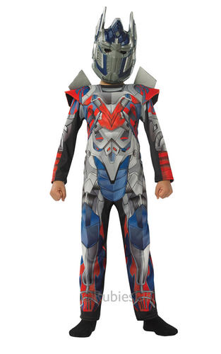 SALE! Kids Licensed Transformers Optimus Prime Boys Fancy Dress Costume Outfit Thumbnail 1