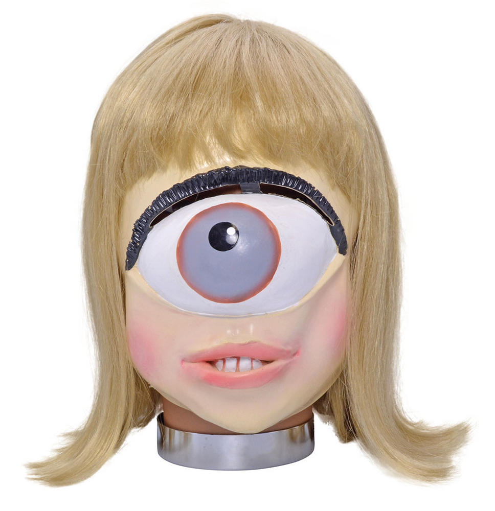 One Eye Lady Alien Mask