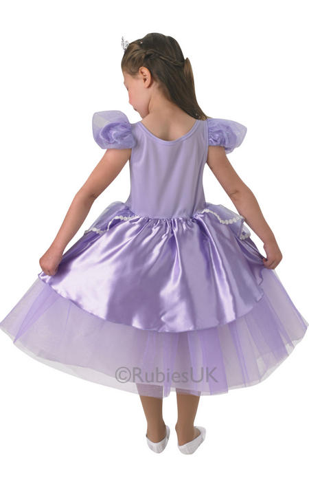 NEW Child Disney Premium Sofia The First Princess Girls Fancy Dress Kids Costume Thumbnail 2