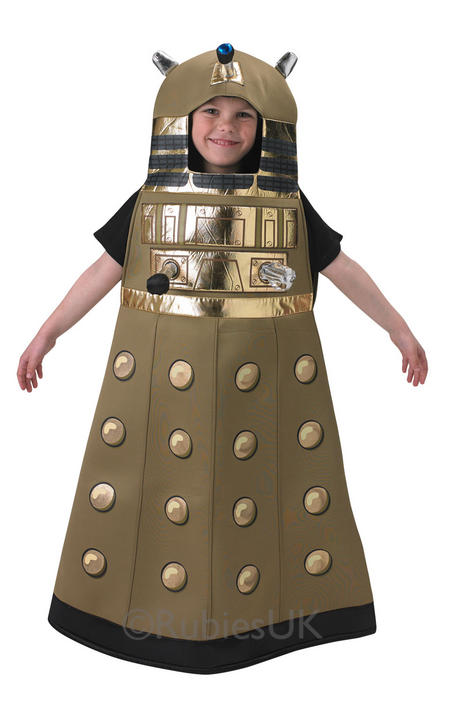 Child BBC Doctor Who Dalek Boys Book Week Fancy Dress Kids Halloween Costume Thumbnail 1