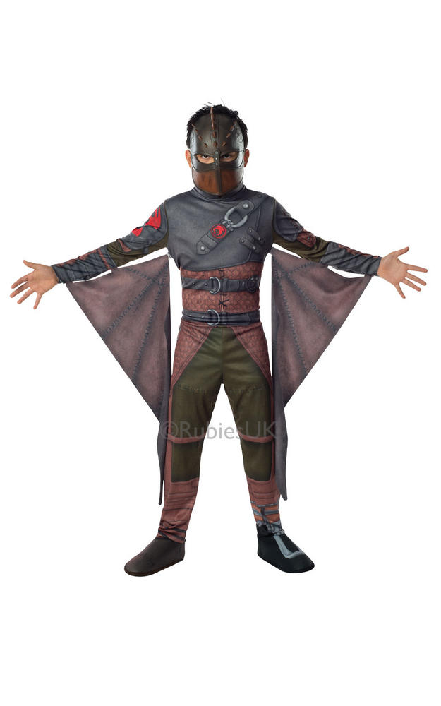 Kids How To Train Your Dragon 2 Viking Hiccup Boys Fancy Dress Costume Outfit