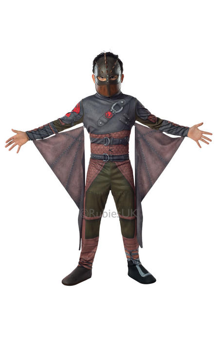Kids How To Train Your Dragon 2 Viking Hiccup Boys Fancy Dress Costume Outfit Thumbnail 1