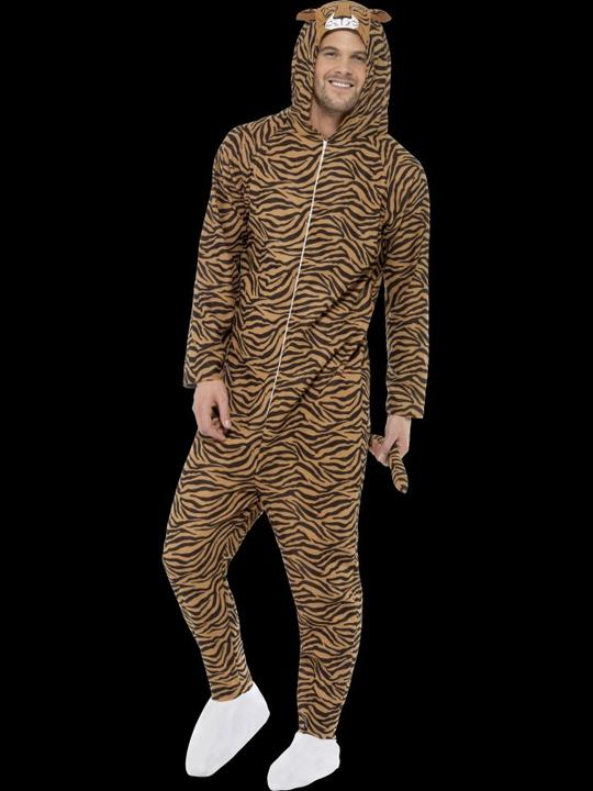 Adults Tiger Costume Thumbnail 2
