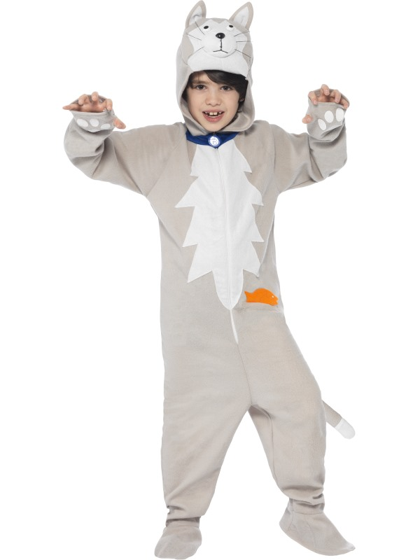 Kids Battersea Smudge The Cat Girls / Boys Book Week Fancy Dress Costume Outfit
