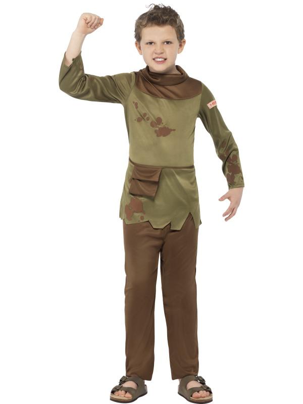 Kids Horrible Histories Revolting Peasant Boys Book Week Fancy Dress Costume