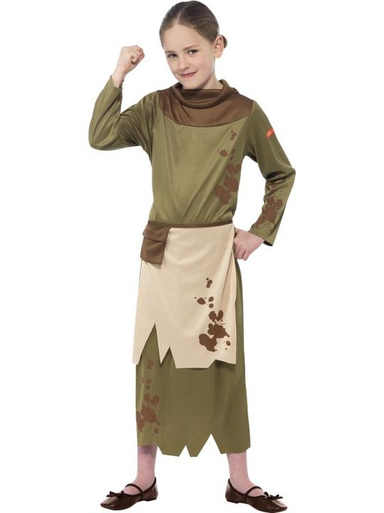 Kids Horrible Histories Revolting Peasant Girls Book Week Fancy Dress Costume Thumbnail 1