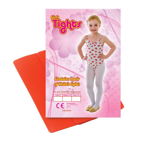 Childs Tights Red