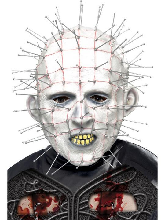 Hellraiser Licensed Fancy Dress Mask Thumbnail 1