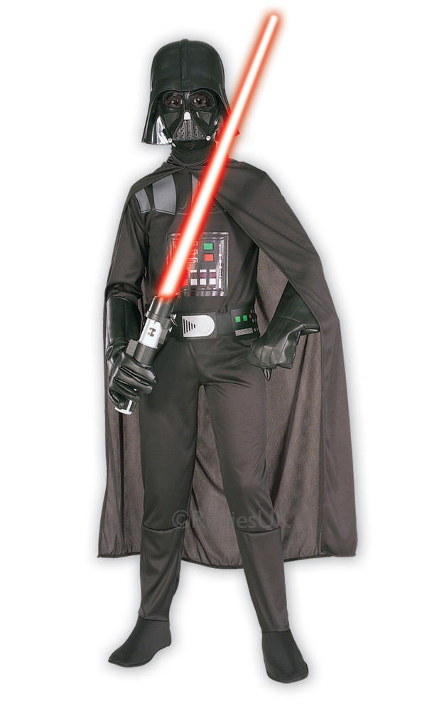 Kids Classic Darth Vader Fancy Dress Costume