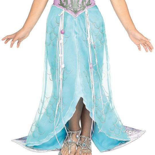 Girls Mermaid Pincess Fancy Dress Costume Thumbnail 3