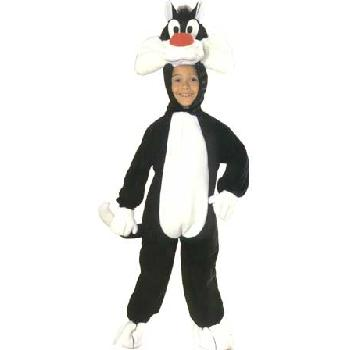 SALE Kids Sylvester The Pussy Cat Girls / Boys Fancy Dress Childs Costume Outfit Thumbnail 1