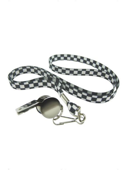 Silver Metal Whistle Thumbnail 1