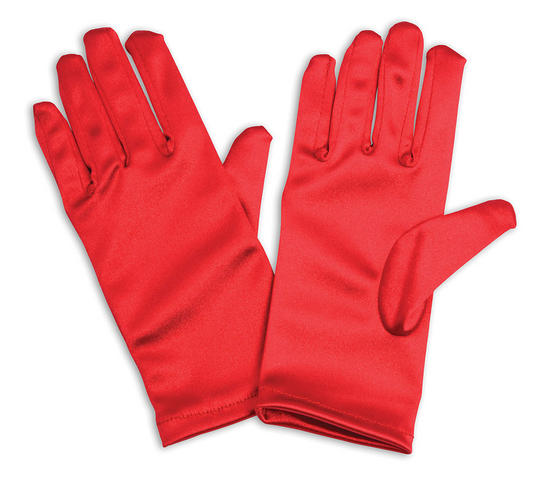 Childs Red Gloves  Thumbnail 1