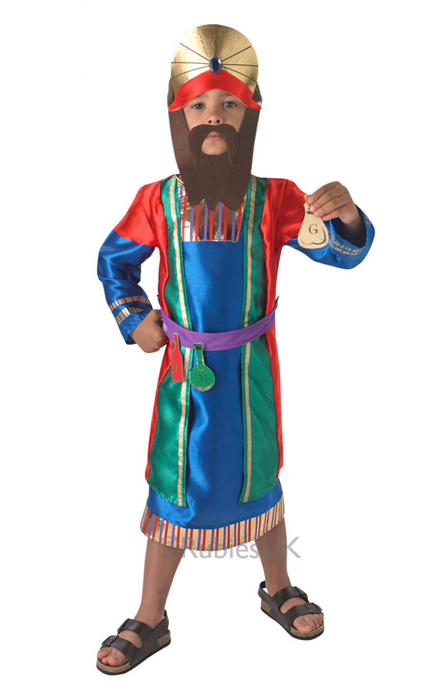 CHILDS NATIVITY WISE MAN COSTUME