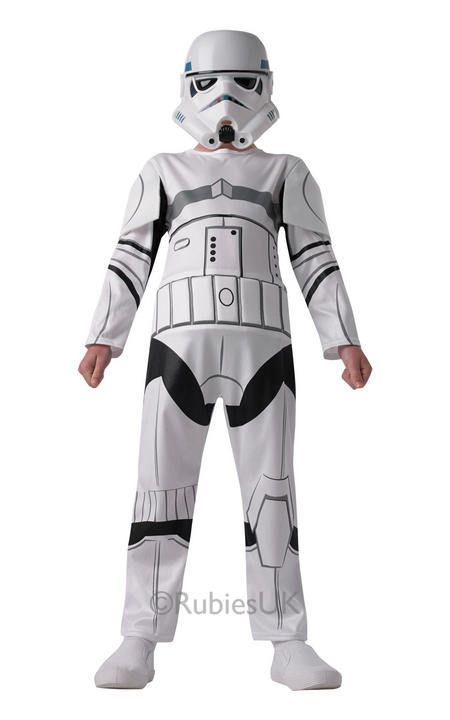 Boys Star Wars Stormtrooper Costume  Thumbnail 1
