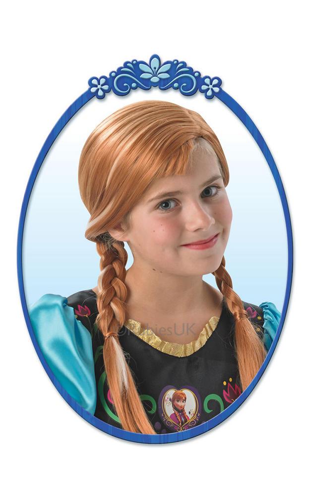 Disney's Frozen Anna wig