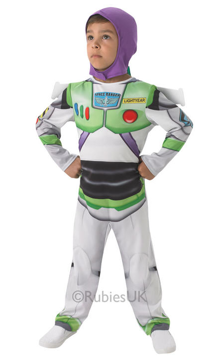 Childs BUZZ LIGHTYEAR Disney Toy Story Hero Boys Fancy Dress Kids Party Costume Thumbnail 1