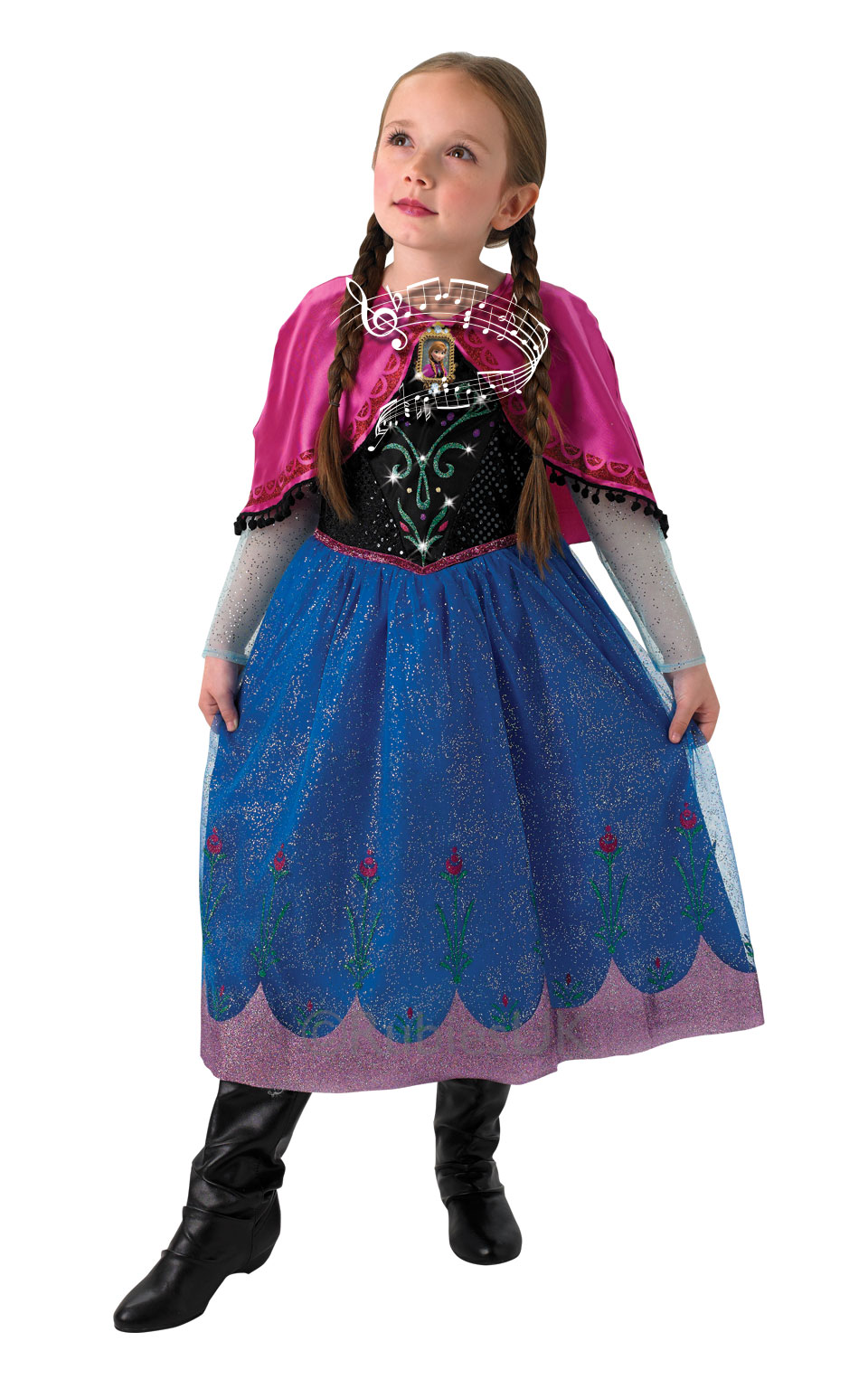 SALE! Kids Licensed Disney Princess Frozen Anna / Elsa Girls Fancy ...