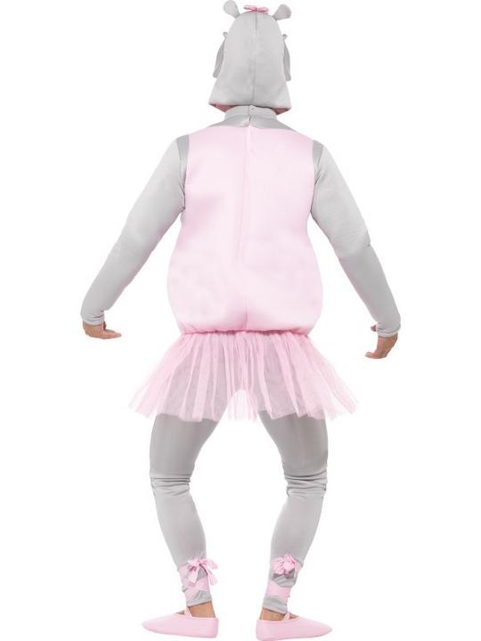 Adult Ballerina Hippo Costume Thumbnail 3