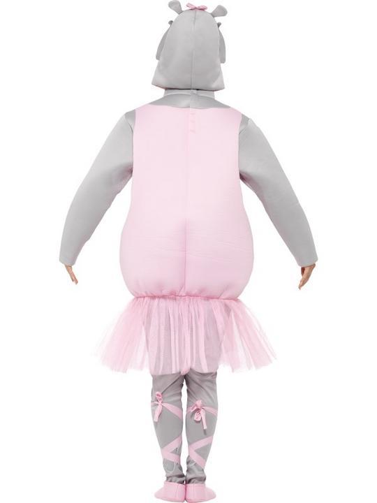Adult Ballerina Hippo Costume Thumbnail 4
