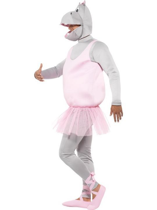 Adult Ballerina Hippo Costume Thumbnail 5