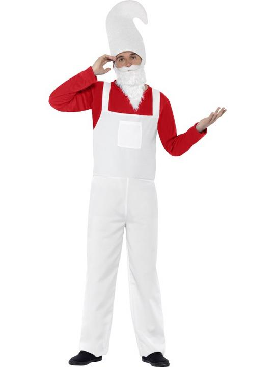 Coral Male Garden Gnome Costume Thumbnail 1