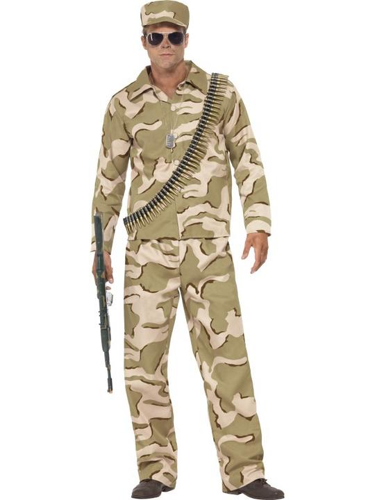 Male Commando Costume Thumbnail 1