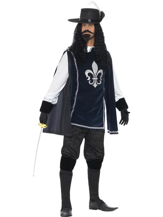 Musketeer Male Costume Thumbnail 1