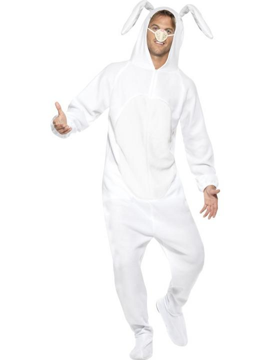Adult White Rabbit Costume Thumbnail 2