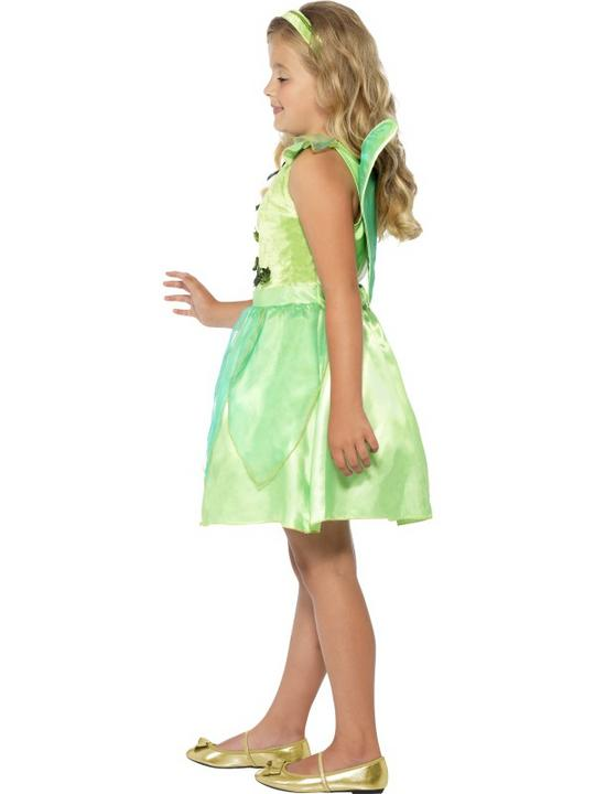 SALE! Child Green Forest Fairy Princess Girls Book Week Fancy Dress Kids Costume Thumbnail 2