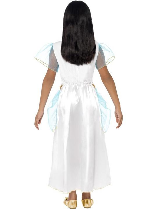 Child Deluxe Egyptian Queen Cleopatra Girls Book Week Fancy Dress Kids Costume Thumbnail 3