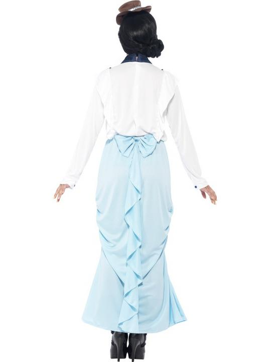SALE Adult Posh Victorian Lady Ladies Book Week Fancy Dress Costume Party Outfit Thumbnail 2