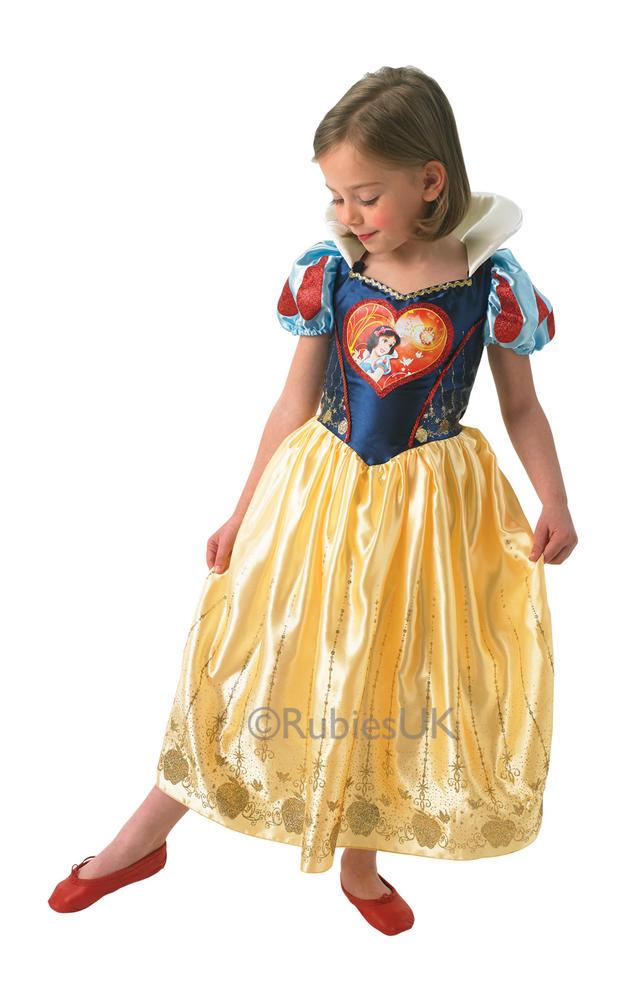 Child Disney Princess Snow White Girls Book Week Fancy Dress Kids Costume Outfit