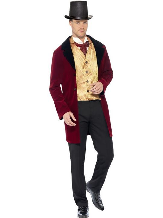 Edwardian Gent Deluxe Costume Thumbnail 1