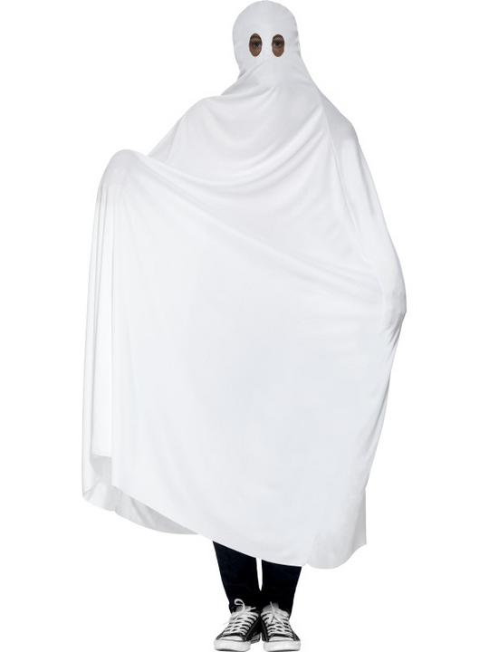 SALE! Adult Funny White Ghost Mens Halloween Party Fancy Dress Costume Outfit Thumbnail 1