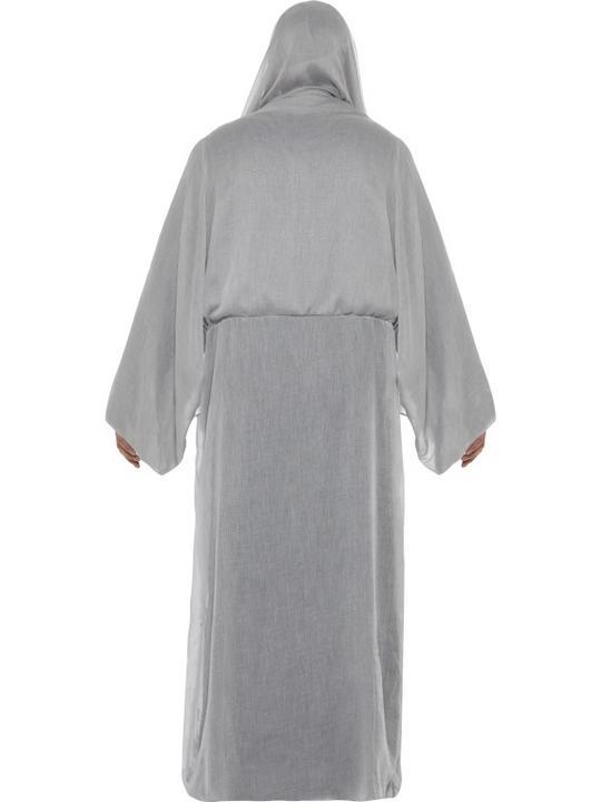 SALE! Adult Grim Death Reaper Mens Halloween Horror Fancy Dress Costume Outfit Thumbnail 2