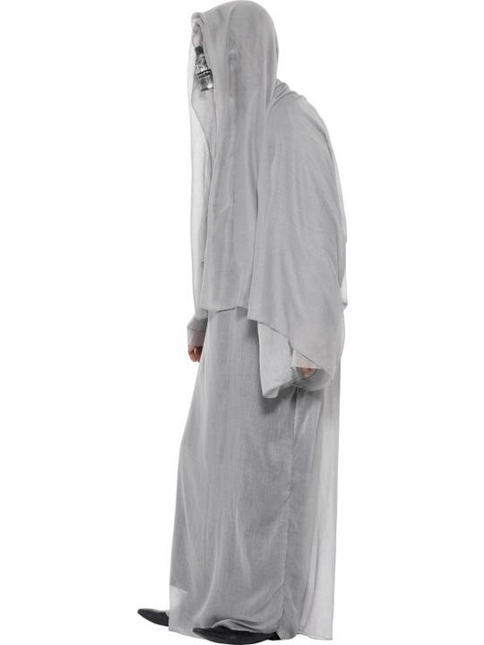 SALE! Adult Grim Death Reaper Mens Halloween Horror Fancy Dress Costume Outfit Thumbnail 3