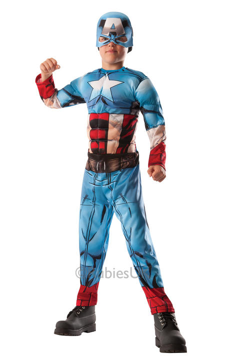 Boy's Deluxe Hulk to Captain America Costume  Thumbnail 1