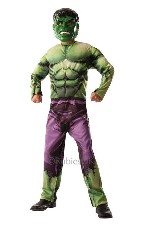 Boy's Deluxe Hulk to Captain America Costume  Thumbnail 2