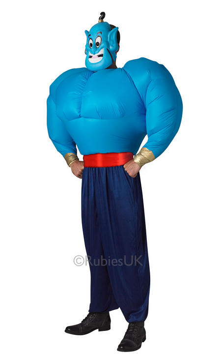 Disney Aladdin Genie Fancy Dress Costume  Thumbnail 1