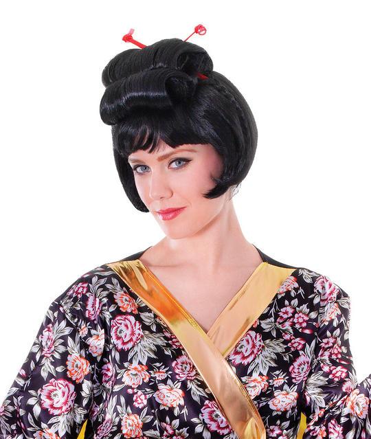 Geisha Wig  Thumbnail 1