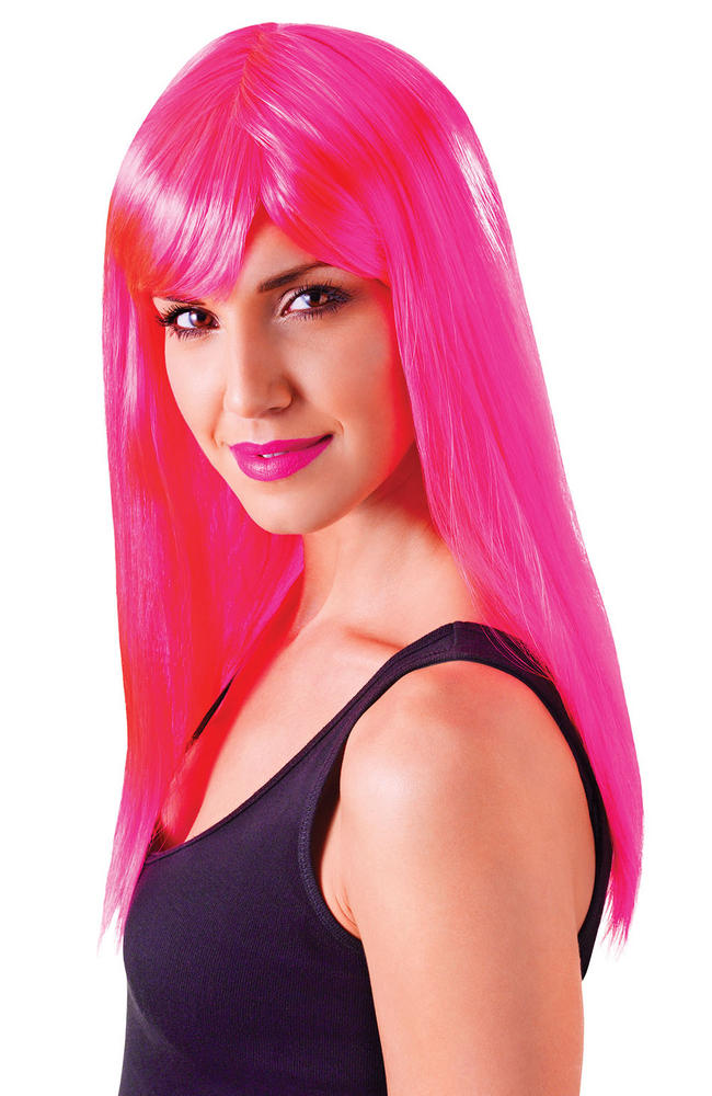Neon Pink Passion Wig