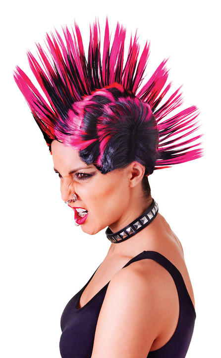 Females Mohican Wig  Thumbnail 1