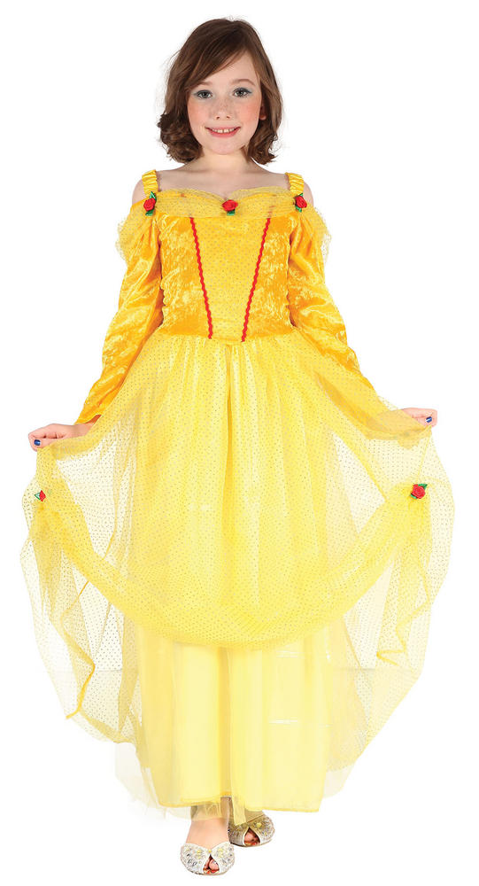 Yellow Princess Dress