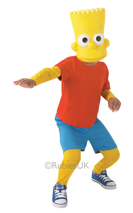 Boys Bart Simpson Costume  Thumbnail 1